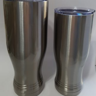 Pilsner stainless steel cups